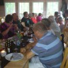 098 Medlemsfest surströmming 17.8-2012 Thorvald har ätit färdigt av strömmingen.